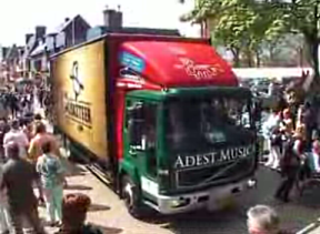 "New truck for Adest Musica with ""the Musketeer"" theme for their WMC 2009 show"
