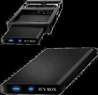 RaidSonic ICY BOX IB-266StUSD-B and IB-266StUS-B