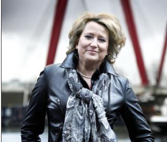 Jolande van der Graaf - de 'Journaliste' die het stuk durfde te publiceren @!#$