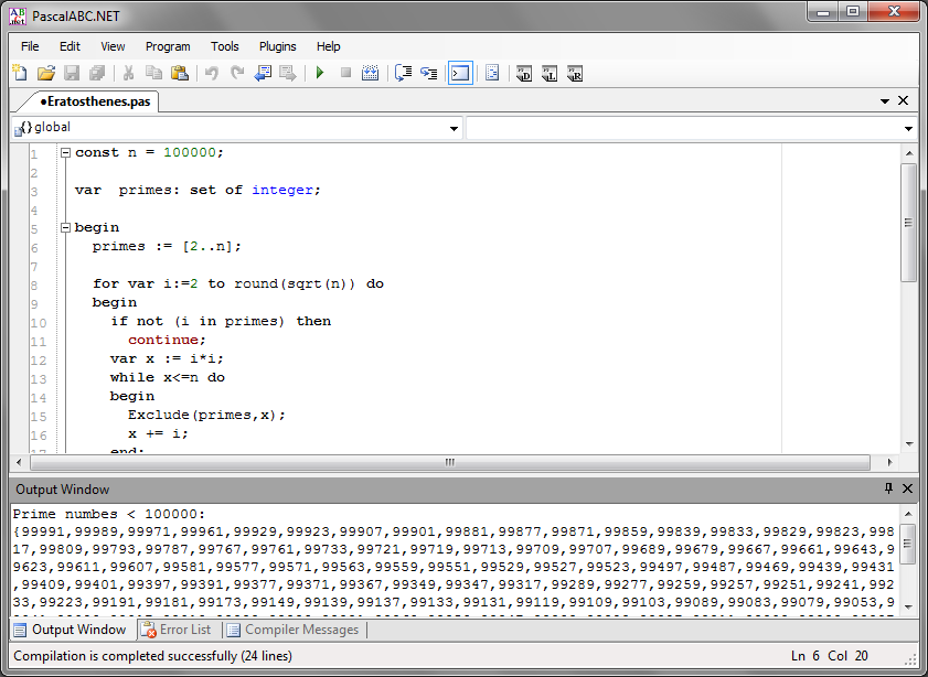 Pascalabc Net Net Version Of Pascal With Its Own Ide The Wiert Corner Irregular Stream Of Stuff