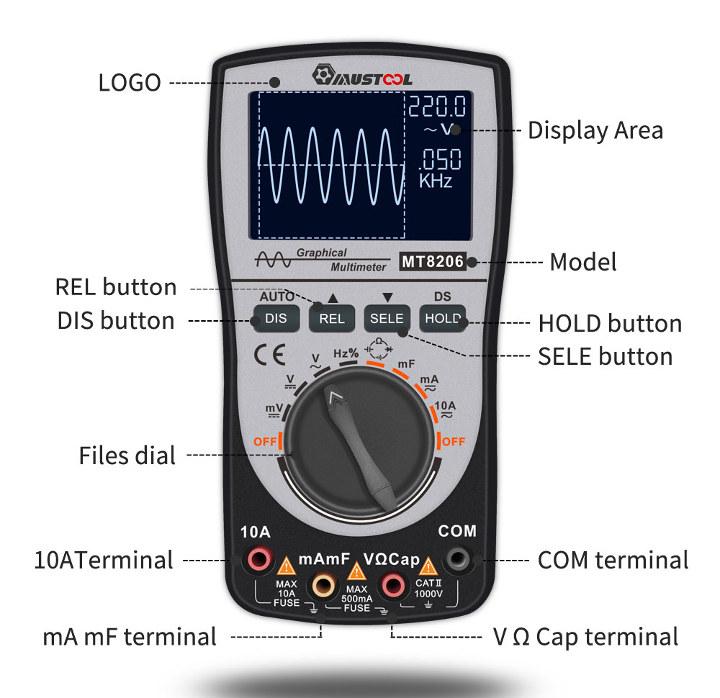 MUSTOOL MT8206 Multimeter & Oscilloscope Goes for $42 (Promo